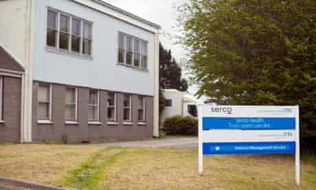 A Serco clinic in Truro, Cornwall.