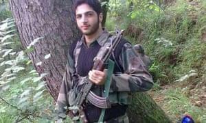 Kashmir militant Burhan Muzaffar Wani