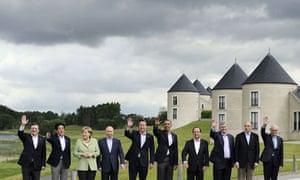 Leaders at the G8 summit near Enniskillen in Northern Ireland in June.