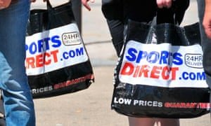 Shopping bags Oxford street Sports Direct Primark