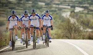 Team Novo Nordisk, the world's first all-diabetic cycling team.