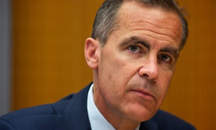Mark Carney, new governor of the Bank of England