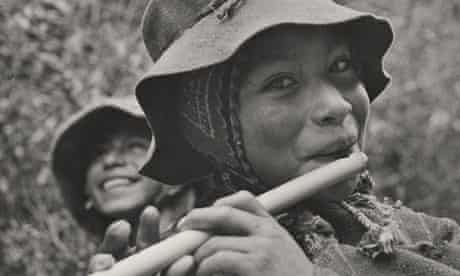 Eugene Harris, Peruvian Flute Player, from The Family of Man