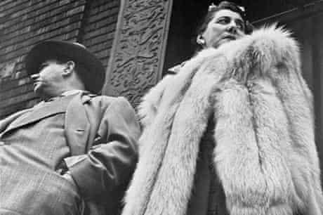 Leon Levinstein, Couple in New York, 1952 Leon Levinstein, Couple in New York, USA, 1952