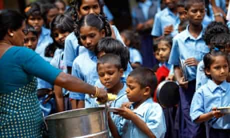 Mid-day meal India