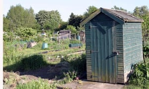 An allotment … its function is spiritual, not economic.