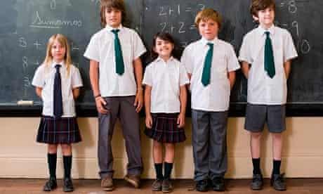 MODEL RELEASED, School children in classroom