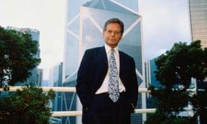Financier Simon Murray in Hong Kong