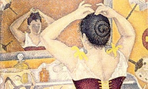 Paul Signac, Woman at her Toilette, 1893