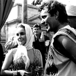 Elizabeth Taylor Richard Burton Cleopatra