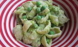 Pea and mint pesto