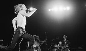 Warren Zevon in Los Angeles in 1980.