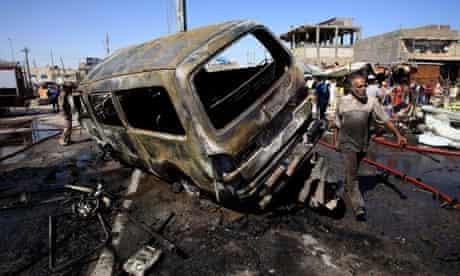 Iraq bloodiest month