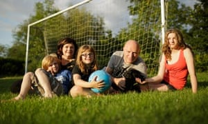 Gill Sutherland and family