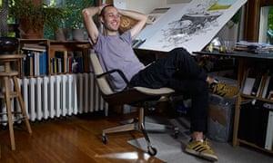 Anders Nilsen portrait