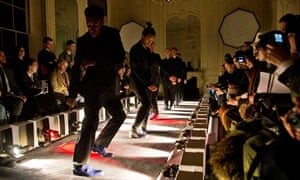Mr Hale shoe at Men's London Fashion Week.