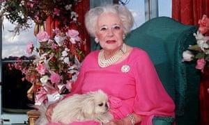 Barbara Cartland in 1997