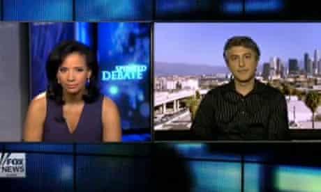 Screenshot of Fox News's Lauren Green interviewing Reza Aslan