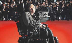 Stephen Hawking has embraced mass celebrity.
