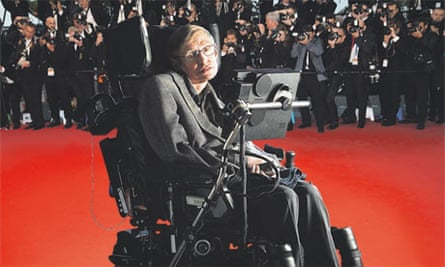 Stephen Hawking has embraced mass celebrity.