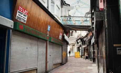 Newport City Centre Empty Shops