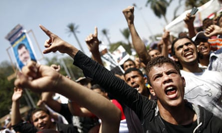 Egyptian supporters of Mohamed Morsi