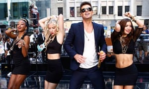 Robin Thicke on NBC News's Today show