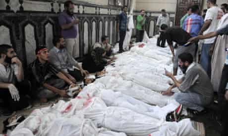 Bodies in a Cairo mosque, August 2013