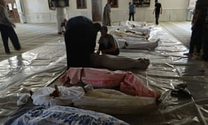Syrian opposition claims over a five hundred killed in chemical attack