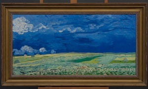 The 3D replicas of Van Gogh's work include Wheatfield under Thunderclouds