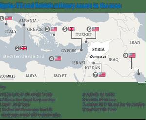 Syria - US/British military assets