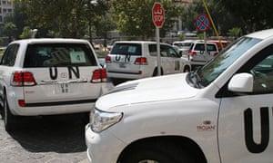 UN convoy Syria