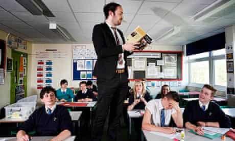 Educating Yorkshire: teacher Matthew Burton reads to his class