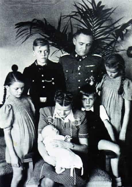 Rudolf Höss and family