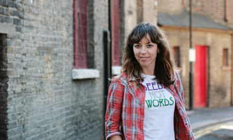 Bridget Christie … this year's Edinburgh Comedy award winner/