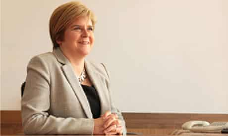 Scotland's deputy first minister Nicola Sturgeon