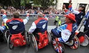 Paralympians celebrate