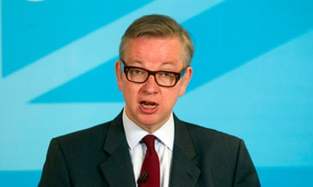 Michael Gove had to be calmed down after the vote.