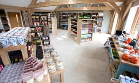 Waitrose's farm shop on its Leckford Estate in Hampshire.