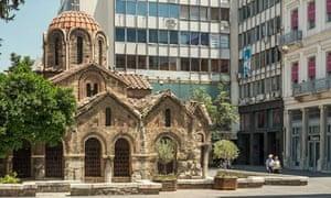 Pigs: Greece Athens church