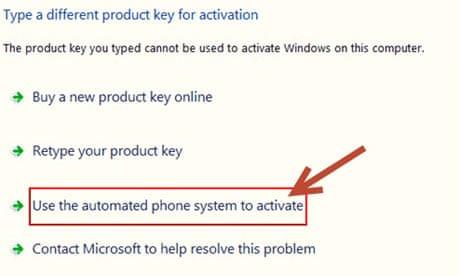 microsoft activate windows online