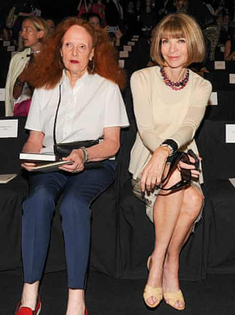 Grace Coddington and Anna Wintour spring summer 2014
