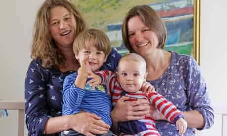 Hannah Latham and family