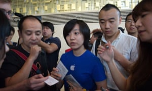 Apple Iphone 5s and Iphone 5c Launch, Beijing, China