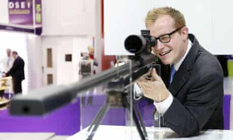 The DSEI arms fair in London