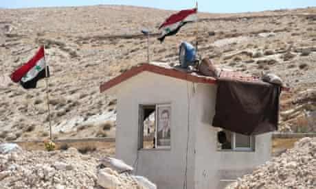 Pro-Assad militia in Syria