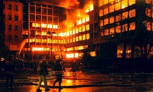 Nato bombing of Belgrade
