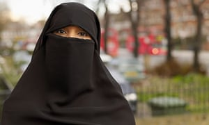 Woman wearing hijab
