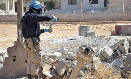 UN inspector in Syria