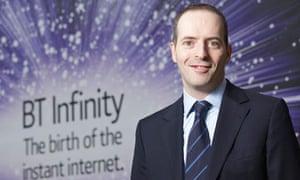 BT chief executive Ian Livingston